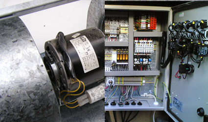 Fans switchgear and electromechanical devices repairs for Electric motor repair company
